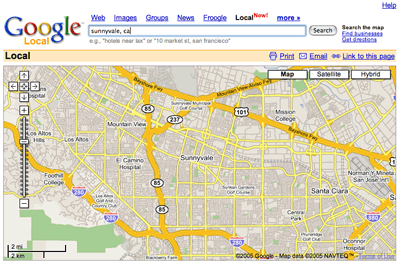 Theocacao: Yahoo Maps vs. Google Maps on