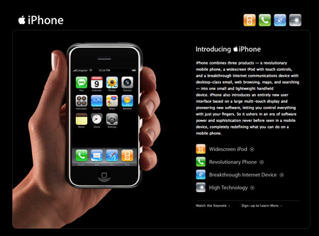 iPhone Site