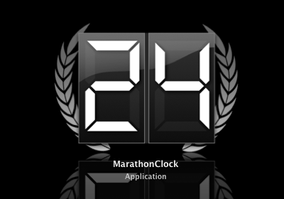 Marathon Clock Icon